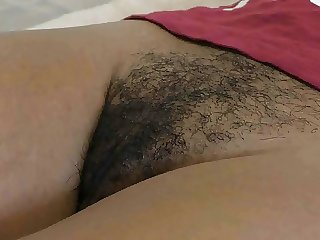 Black hairy cunt filled up with hot cum by BWC
