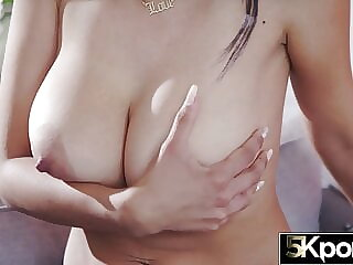 5KPORN – Big Tit MILF Teaches Young Stud How to Fuck