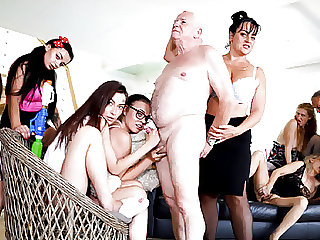 Old Pervs throw an orgy
