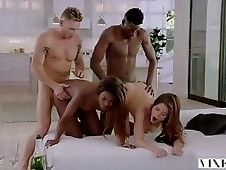 Swinger Couple Have Hotness Passionate Foursome