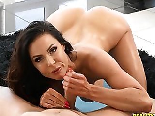 Fit Cougar With Big Boobs Has Sex With Her Personal Yoga Teacher