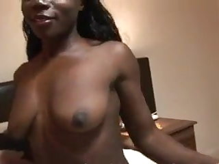 BLEACHED: Ebony African goddess fucked by white cock