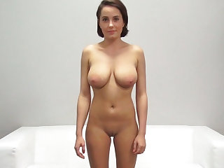 Sexy Student with Big Natural Tits and Tight Pussy