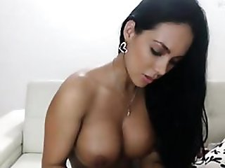 Bigboob tammed skin play with toy