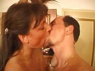 gracious aged performs for her cuckold spouse