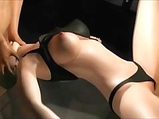 3D Big-breasted Broad Fucked From Both Ends!