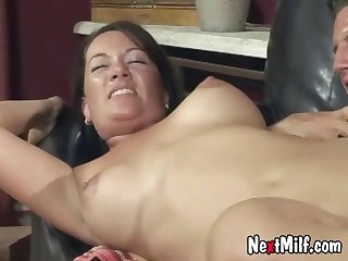 That is one hairy cunt for banging