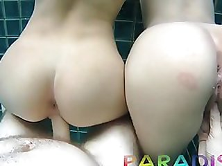 Paradise Gfs - Twins Get Fucked In Swimming Pool