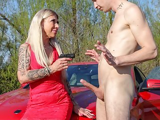 Horny Granny Wants You to Stick it Out!