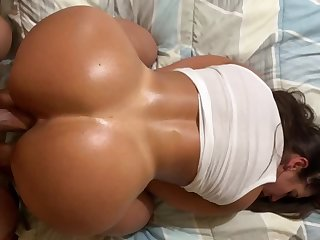 Came twice with her wet pussy and ass bouncing on my cock