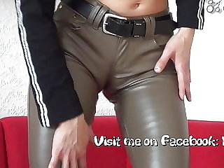 A horny leather ass.