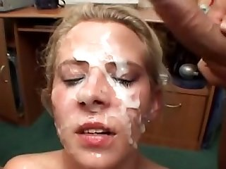100 CUMSHOTS IN THE FACE AND IN THE MOUTH - Sperm Cocktail