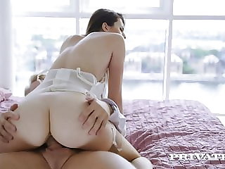 Private.com - Young Lina Luxa, Ass Fucked By Boyfriend's Dad
