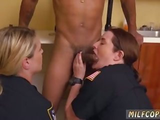 Milf solo big tit dildo Black Male squatting in home gets our milf