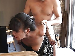 I Turned My Tiny Mexican Granny Maid Into an Anal Slave