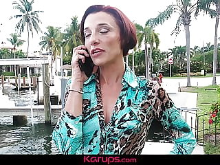 Karups - Mature Stella Banks Cheats With Her Trainer