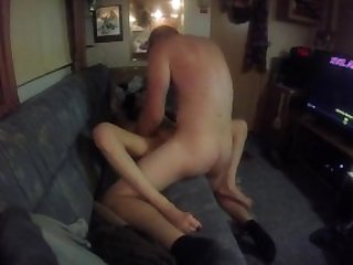 he just loves cumming deep inside my tight juicy pussy!