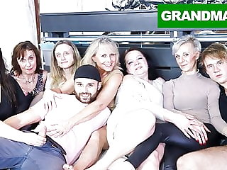 Insane Granny Orgy Will Make Your Cock Hard AF!
