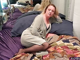 Stepmom helps with bad dream