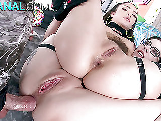 ALL ANAL Big gape energy with Anna de Ville and Jane Wilde