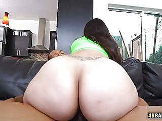 Alycia Starr Spreading Her Big Ass In Front Of BBC Ricky