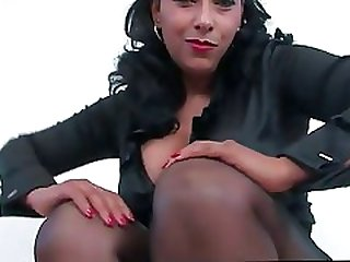 Sight From The Shoe Upskirt Stocking Tops Gash