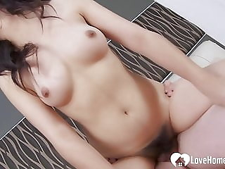 Amazing girl with a pretty pussy got rammed